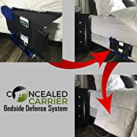 Bedside Holster | Pistol Flashlight Holster | Gun Flashlight Holster | Under Mattress Holder | Handgun Holster | Gun Holder For Bed | Gun Mattress | Pistol Holster With Light | Bed Side Holster