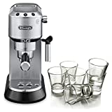 DeLonghi Dedica Stainless Steel Pump Espresso and