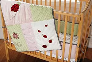 Amazon Com Kidsline Lady Bug Portacrib Set Crib