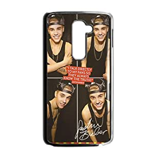 Justin Bieber's Smile Cell Phone Case for LG G2