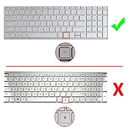 [2 Pack] Keyboard Cover Skin for 15.6″ HP Pavilion x360 15-BR075NR,Envy X360 15M-BP012DX 15M-BP011DX 15M-BQ021DX, Pavilion 15-CB010NR 15-CB071NR 15-CC010NR, 17.3″ HP Envy 17M-AE111DX, 2020,Mint Green