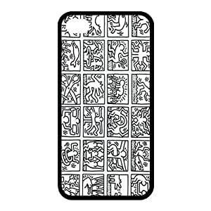 High Quality Customizable Durable Rubber Material ZQ Keith Haring is iPhone 6 4.7 drink Back Cover honey Case it
