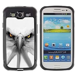 "Pulsar iFace Series Tpu silicona Carcasa Funda Case para Samsung Galaxy S3 III I9300 , Águila Blanca Patriotismo América del Símbolo"""