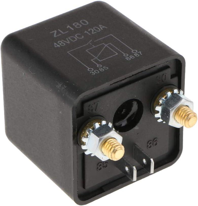 Charge Fendue Relais Ouvert Almencla 2 Bornes 48V 120A Charge Normale