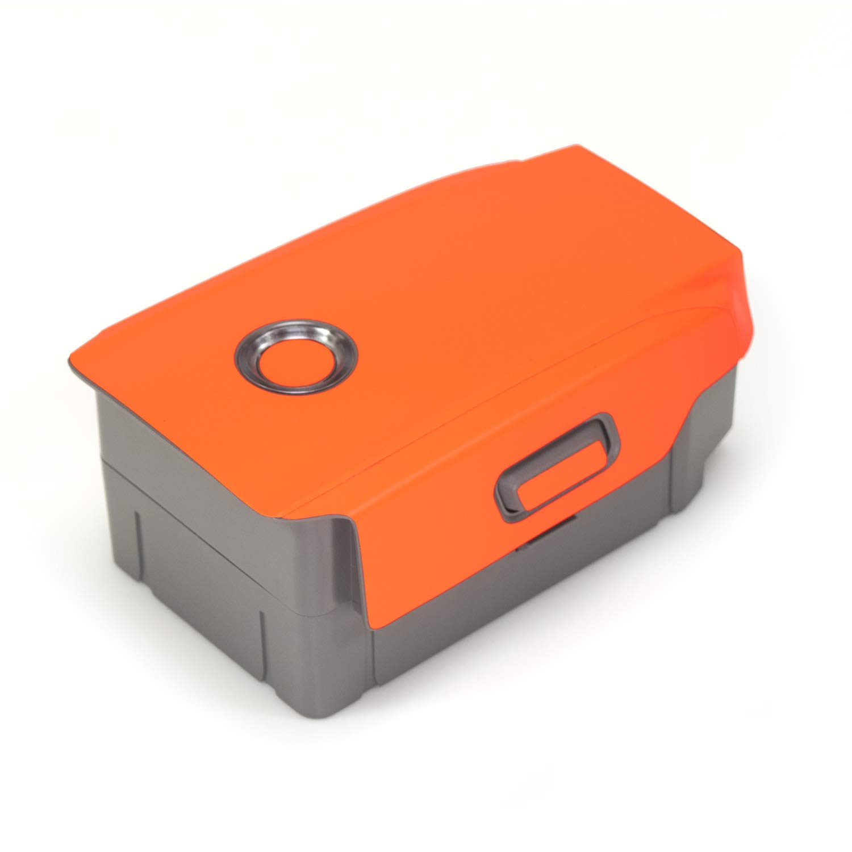 Wrapgrade Poly Skin for DJI Mavic 2 RACING WHITE 2 Batteries