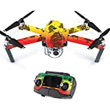 Skin For DJI Mavic – Rasta Lion | MightySkins Protective, Durable, and Unique Vinyl Decal wrap cover | Easy To Apply, Remove, and Change Styles | Made in the USA