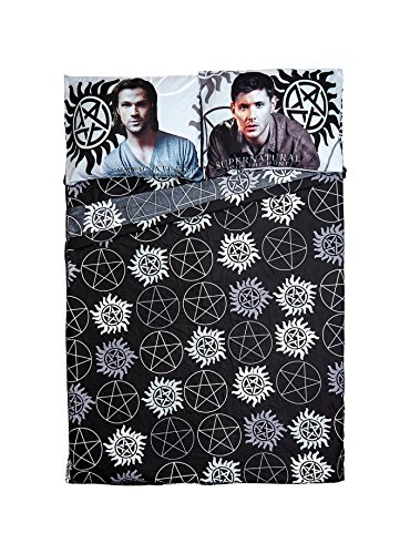 sam and dean winchester blanket - 2