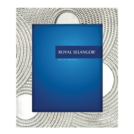 Royal Selangor Hand Finished 8515 Collection Pewter Photo Frame (8R) by Royal Selangor