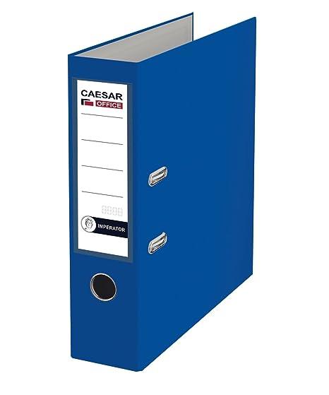 Imperator profesional de papel (A4 polipropileno archivadores de cartón – azul (Pack de 20