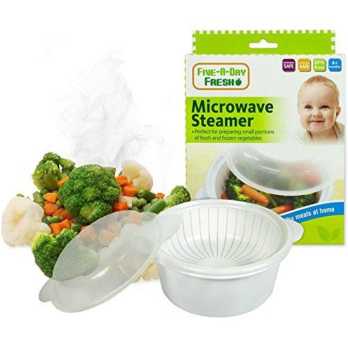 Fresh Mikrowelle Dampfgarer Baby BPA-frei Phthalate Sichere Erste Schritte