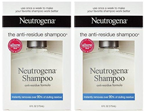 Neutrogena Shampoo, Anti-Residue Formula, 6 Ounce (Pack of 2)