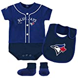 Toronto Blue Jays Newborn & Infant Royal Tiny Player Bib, Boodie & Bodysuit Set