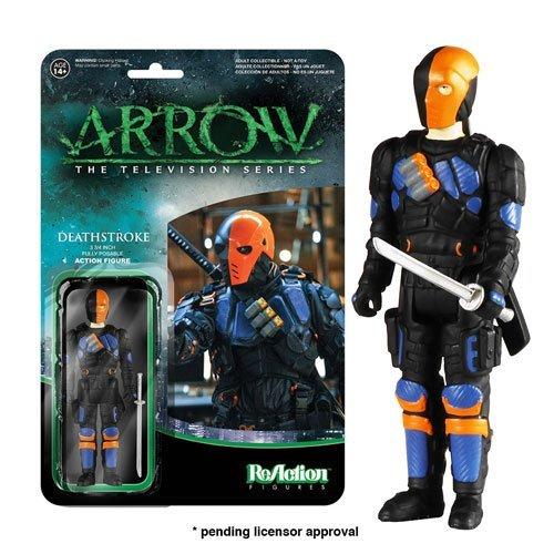 Arrow Deathstroke ReAction 3 3/4-Inch Retro Action Figure by Arrow
