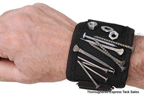Tough 1 breathable farrier/carpenter wrist magnet horse tack equine