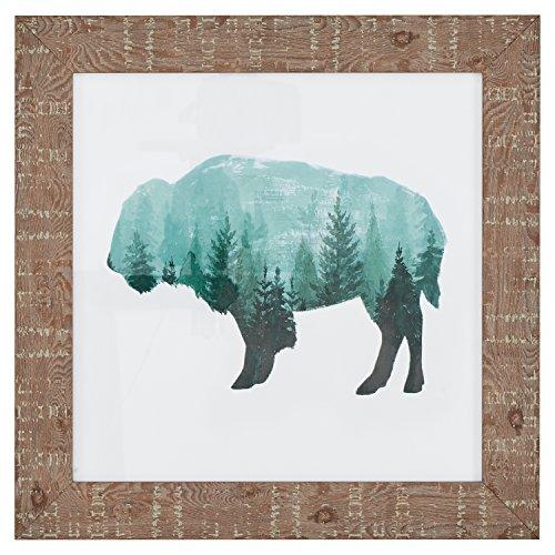 - Modern Rustic Buffalo Bison Silhouette Print Wall Art Décor - 15