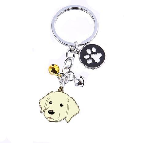 BbearT® - Llavero para perro, diseño de perro pequeño, con ...