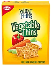 Wheat Thins Vegetable Thins Crackers, 200g
