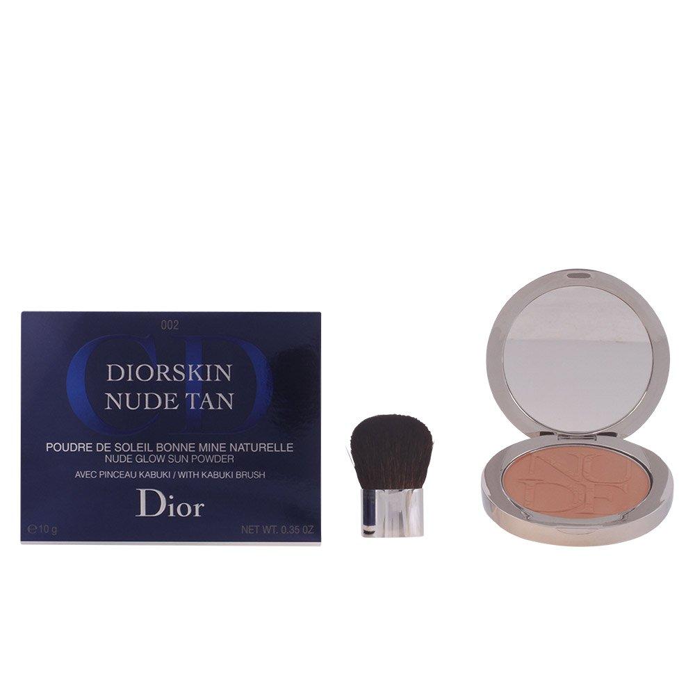 Christian Dior Nude Glow Sun Powder Kabuki Brush, 002 Amber, 0.35 Ounce