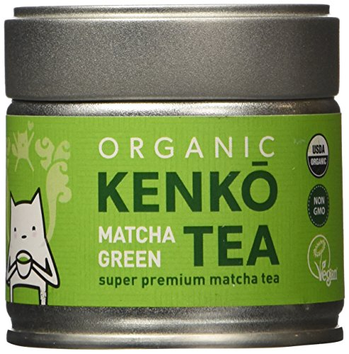 KENKO Matcha Green Tea Powder [USDA Organic] Ceremonial Grade - Japanese, Green, 30g (1oz) - incensecentral.us