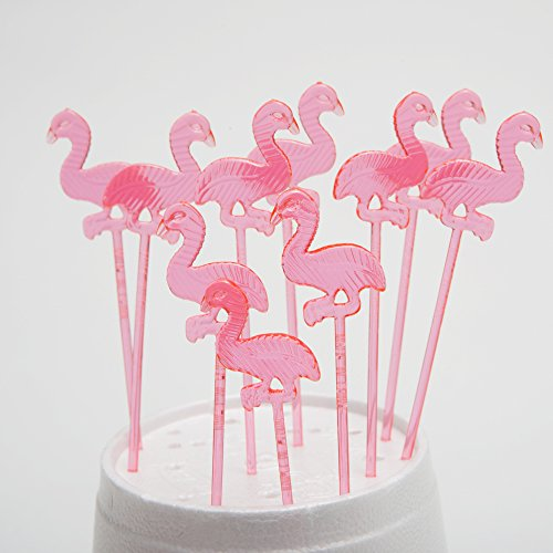 Fun Express Plastic Flamingo Picks
