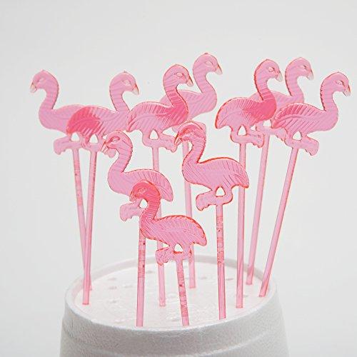 Fun Express Plastic Flamingo Picks