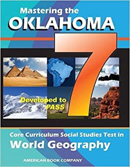 Buy Mastering the 7th Grade Oklahoma Core Curriculum Social