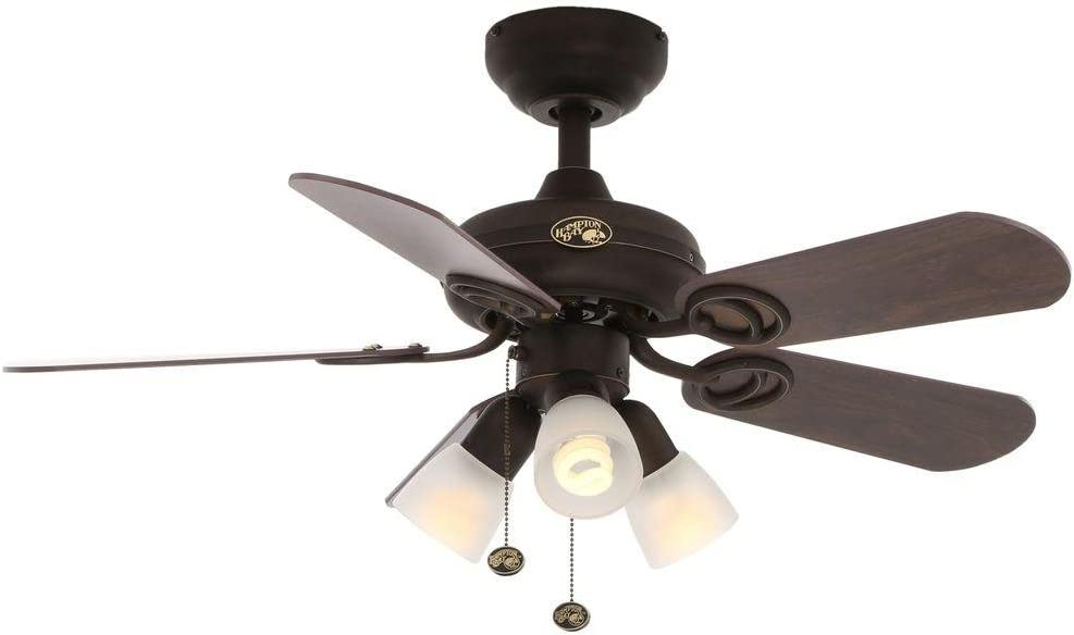 Home Furniture Diy Ceiling Fans Hampton Bay Ceiling Fan Light Kit 36 In 3 Speed Motor Rerversible Blades Bortexgroup Com