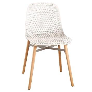 Silla de comedor sillas Asiento Sillón Rejilla circular ...