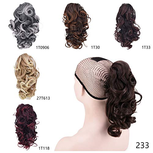 Short Ponytail Women Extensions Synthetic product image