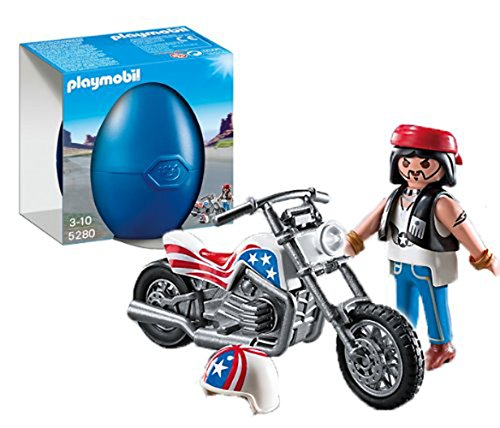 PLAYMOBIL® Biker with Motorcycle - Favors Playmobil