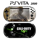 Decorative Video Game Skin Decal Cover Sticker for Sony PlayStation PS Vita Slim (PCH-2000) - COD MW4