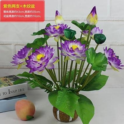 Amazon jialele artificial flowersfake flowersilk flower jialele artificial flowersfake flowersilk flower simulation flower lotus flower pot home furnishing mightylinksfo