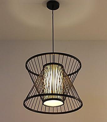 Tsqqst Hange Pendelleuchten Japanische Zen Style Kronleuchter Lampe