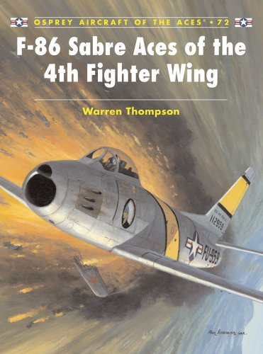 F-86 Sabre Aces of the 4th Fighter Wing (Aircraft of the Aces Book 72) ()