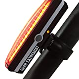Ultra Bright Rechargeable Bike Light - High Intensity Dual Function LED Front or Rear Light Promotes Road Safety All Day & Night - Waterproof Bicycle Accessory - Easy to Mount & Perfect for Outdoors