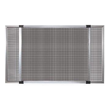 Moustiquaire Extensible Avec Châssis En Aluminium Avec Brosse Aux