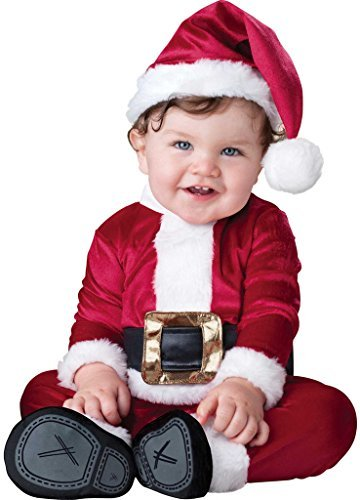 Baby Girls Boys Father Christmas Santa Suit Xmas Festive Fancy Dress Costume Outfit 0-24 months (18-24 months) by Fancy Me