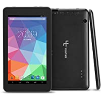 Yuntab T7 7 Inch Allwinner A33,1.5Ghz Quad Core Google Android 4.4 Tablet PC,512MB+4GB ,HD 1024x600,Dual Camera,WiFi,Bluetooth,G-sensor,Support SD/MMC/TF Card(Black)