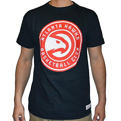 Mitchell & Ness Shirt Atlanta Hawks Team Logo, Größe M