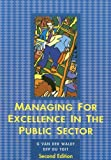 img - for Managing for Excellence in the Public Sector book / textbook / text book