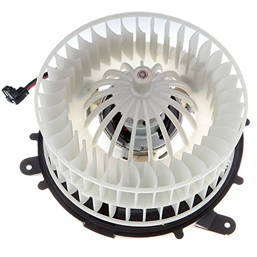 SCITOO ABS Plastic Heater Blower Motor w/Fan HVAC Resistors Blowers Motors fit 1997-1999 Mercedes-Benz E420/1998-2002 Mercedes-Benz E420/1997-2002 Mercedes-Benz E500 Front ()