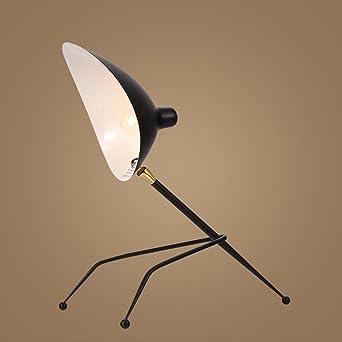 OOFWY Escritorio LED lámpara E27 dormitorio creativo salón ...