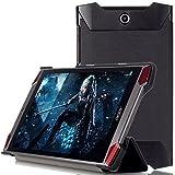 Acer Predator 8 case, KuGi ® Acer Predator 8 case - High quality ultra-thin Smart Cover Case for Acer Predator 8 Tablet. (Black)