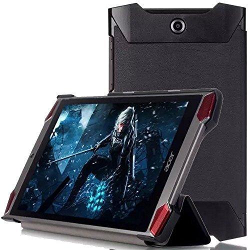 Acer Predator 8 case, KuGi ® Acer Predator 8 case - High quality ultra-thin Smart Cover Case for Acer Predator 8 Tablet.