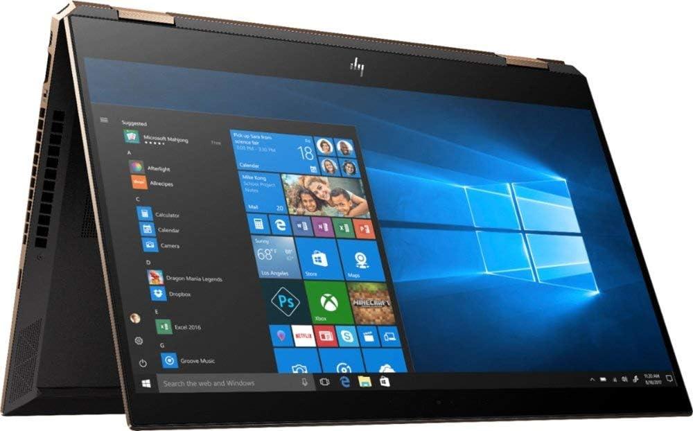 2019 Spectre x360 15t Touch Max Q GTX 1050Ti 6 core (Intel i7 8750H, 4K UHD, 16GB, 1TB SSD,2 in 1, Stylus with 3 Years McAfee Internet Security, Windows 10 PRO Upgrade, Worldwide Warranty) Dark Ash
