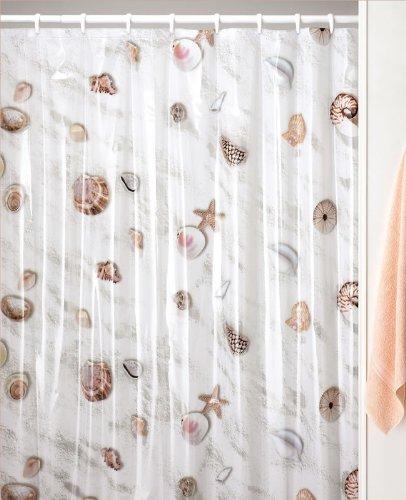 Seashell Beach Sea Shell Decor Shower Curtain