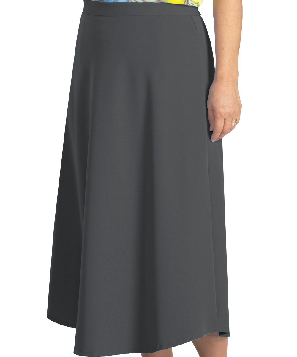 Adaptive Wrap Skirt with Adjustable Closures - Smoke Grey XL by Silvert's