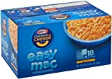 Kraft Easy Mac Original Flavor Macaroni & Cheese Dinner comes in single serve packets. Kraft Easy Mac Original Flavor Macaroni & Cheese Dinner.18 packetsIndividually packagedMicrowavable snack packetsDouble the calcium