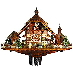 Cuckoo Clock of the year 2012 Farm of the goatherd from August Schwer