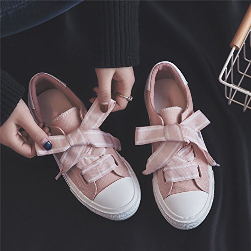 Donna Eu39 5 uk6 Retro Shoes Colore Da Rosa Scegliere Estate cn40 Dimensioni Scarpe Nan Colori Due Fashion Canvas Cui Tra awUEqpT1x